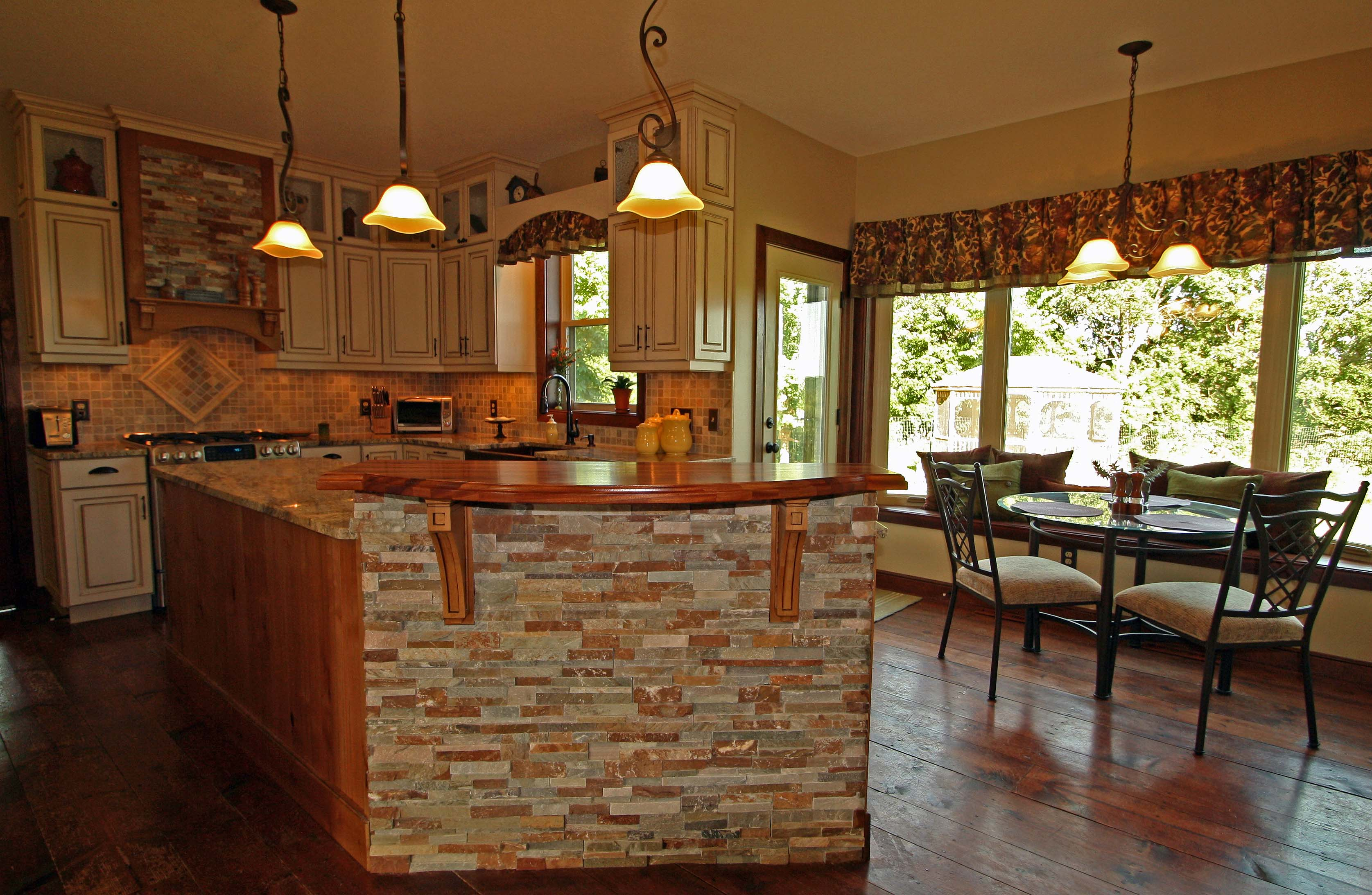 Country Kitchen View 2