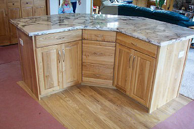 Ash Island with Marble Top