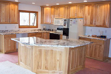 Ash Kitchen with Marble Top